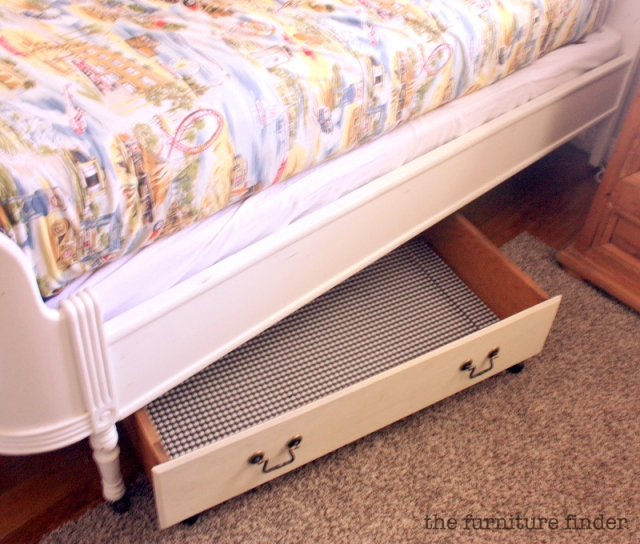 diy: under bed storage